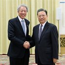 Head of CPC Organization Department meets Singapore Deputy PM in Beijng